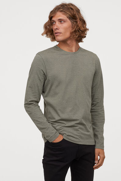 1//6 Light Gray Long Sleeve V-Neck T-shirt Clothes Accessory For 12/'/' Figure